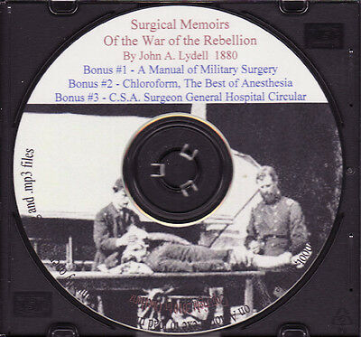 Civil War Surgery + Bonus Books