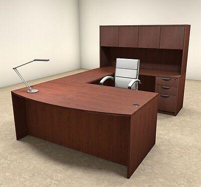 5pc U Shaped Modern Executive Office Desk Ot-sul-u14