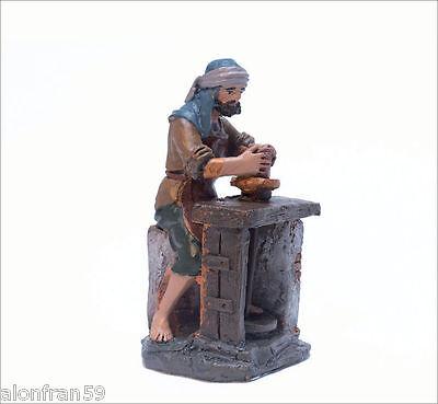 Figura Belen J.L.MayoSerie 11 cms. Alfarero con torno BEL082