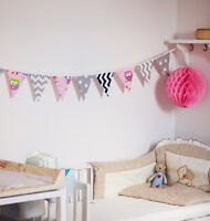 FABRICS LETTERS TRIANGLE GARLAND  and more