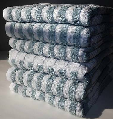 NEW Better Homes and Gardens 6pc Extra-Absorbent Stripe Hand Towel Set 16