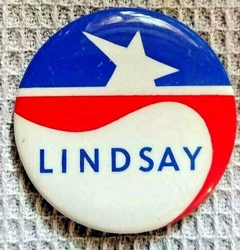LINDSAY for President - John Lindsay 1972 Campaign for the DEMOCRATIC nomination