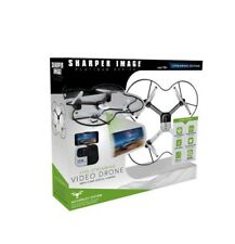Sharper Image SI7471WM19 Live Streaming Video Drone, 0.3MP digital camera