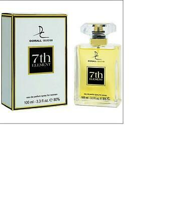 7th ELEMENT PERFUME FOR WOMEN 3.3 fl.oz. FREE WOMEN'S WALLET
