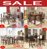 modern height kitchen sets, hatches, tables, dinette set montere