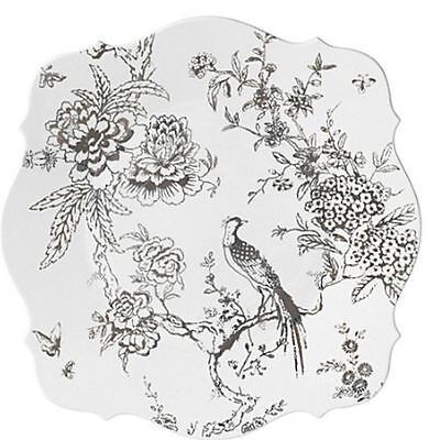 JASPER CONRAN for WEDGWOOD BAROGUE CHINOISERIE PLATINUM CHARGER PLATE   - NEW