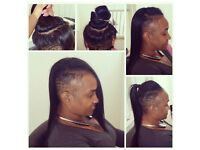 HAIR MODELS WITH SHAVED SIDES ( AFRO,EUROPEAN.) Services:WEAVE; BRAIDS;CROCHET; CORNROW ,WIG;DREADS