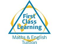 English and Maths Tuitions with First Class Learning