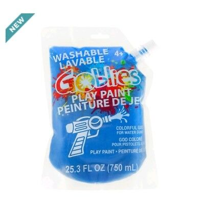 Goblies (Blue)Washable Play Paint for Any Water Guns
