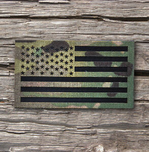 Standard Infrared reflective Multicam IR US Flag Patch 3.5x2