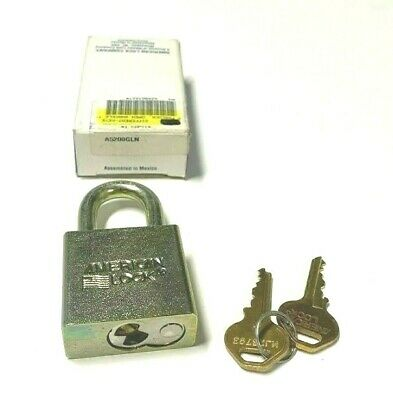 American Lock A5200gln Keyed Padlock Different 1-34w