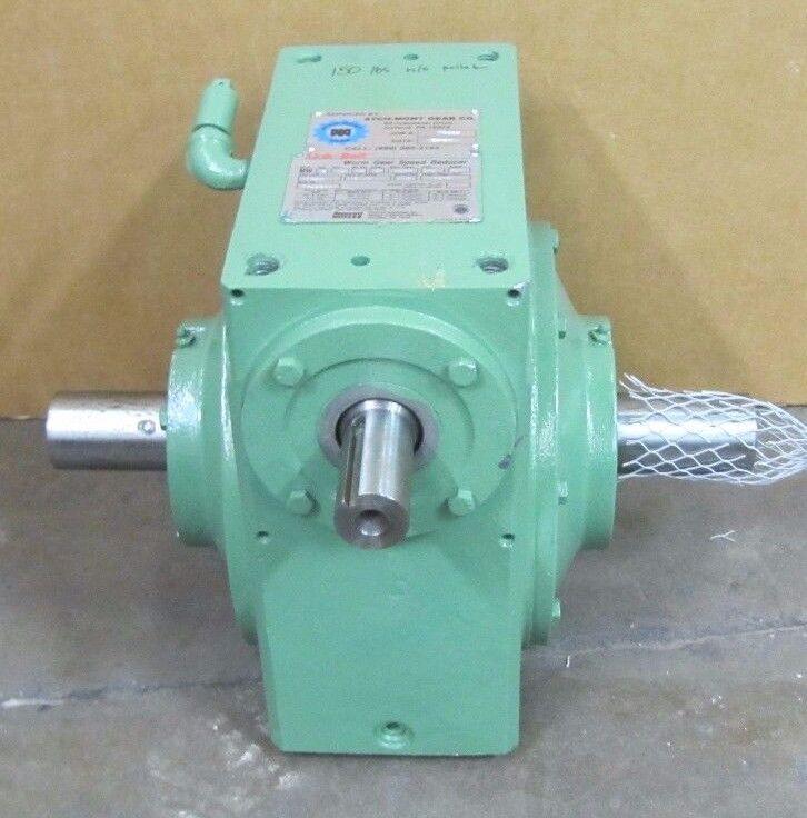 LINK-BELT MW S 120 XX 3T XXXX RATIO 40:1 WORM GEAR SPEED REDUCER GEARBOX REBUILT