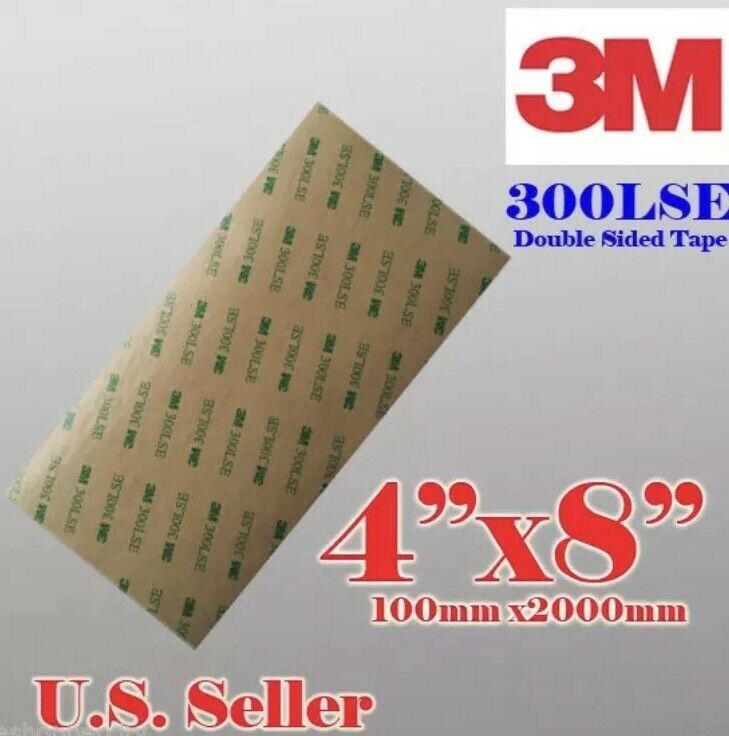 """3M 300LSE 4x8""""SUPER STRONG DOUBLE SIDED TAPE SHEET PAD - Auto Emblem Repairs"""