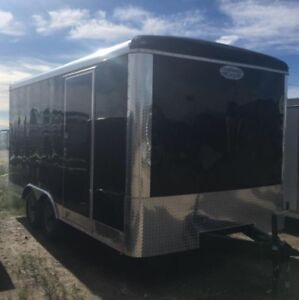 8 x 16 Enclosed Cargo Trailer - For Sale (2018)