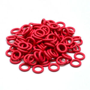 Cherry-MX-Keycap-Rubber-O-Ring-Switch-Dampeners-40A-L-Red-125pcs