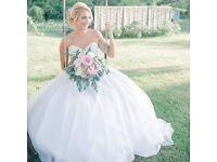 Brand new in bag Anna Sorrano designer wedding dress 1205