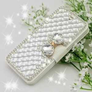 Diamond iPhone and Samsung Flip Case and Stand