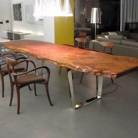 Oak table rustic