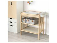 Ikea changing table 'Gulliver'