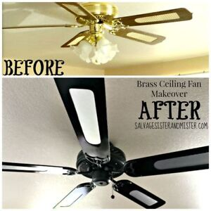 Ceiling fan 5 blades with 5 lights