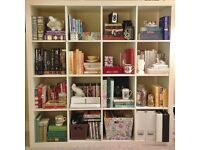 5 x Ikea Expedit 4x4 Bookcase Bookshelves Room Decor Shelving For Drawers Shelves Boxes and Inserts