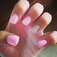 Certified nail tech Gel Nails $25 almond, square