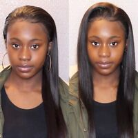 Sew in weave: Closure & Leave Out Installs