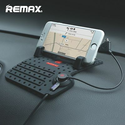 Best Car Holder Dashboard Mount Navigation Mobile Phone USB Charger iPhone