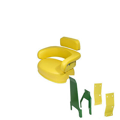 John Deere 3 Piece Seat Cushion Back With Brackets 2520 3020 4020 4320 4620 5020