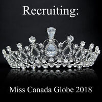 Recruiting for Miss Canada Globe