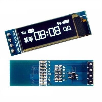 0.91 128x32 Iic I2c White Oled Display Diy Module Dc3.3v 5v For Pic Arduino