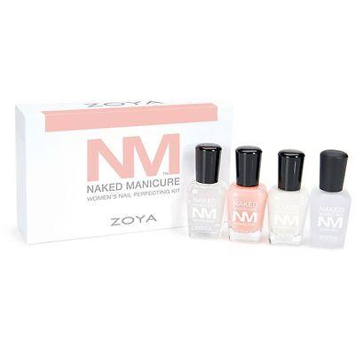 Zoya Nail Polish - Naked Manicure Women's Starter Kit