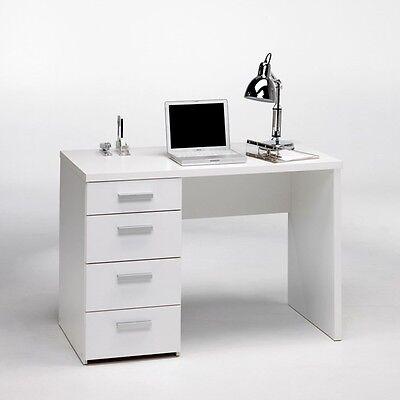 Tvilum Whitman Plus Writing Desk in Contemporary Style White Finish, 8012049 New