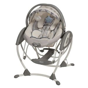 Graco Glider and bouncer