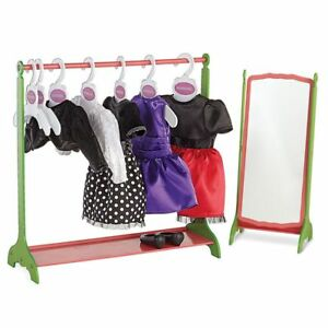 NEW: Newberry Storage Solution Rack (Doll outfits not included)