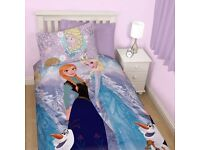 frozen duvet cover and pillow case for single bed
