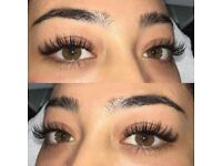 Classic Eyelashes Extension Semi Permanent 1st appointment only £35
