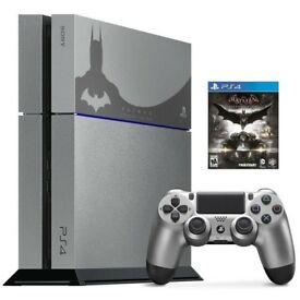 Sony PlayStation 4 Limited Edition Batman Arkham Knight Console, Controller & Game (PRE-OWNWD)
