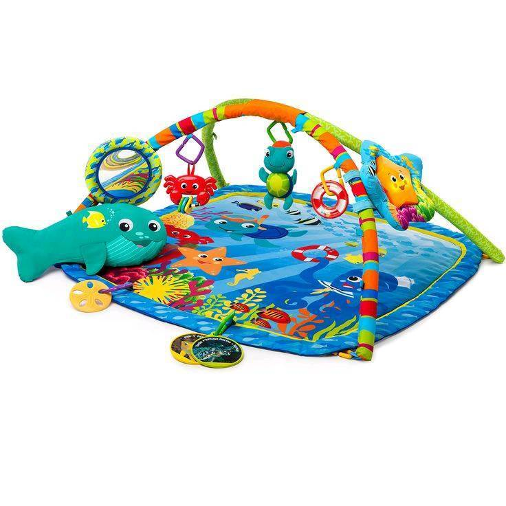 Fisher price Ocean baby play mat gym for girls and boys