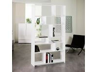 Tall White SHELVING UNIT by Dwell