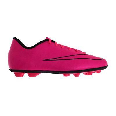 Nike Kids'/Jr. Mercurial Vortex II FG-R Soccer Cleats,Pink, US 1.5Y (K55-NS)