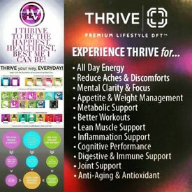 Thrive wellbeing trial samples - surplus to requirement