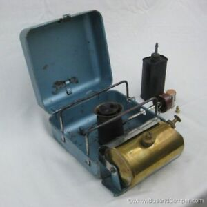 optimus or primus camp stove.