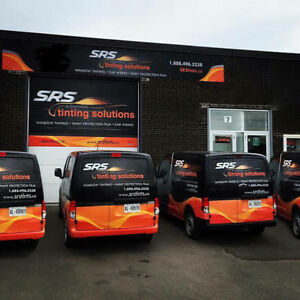 Auto Window Tinting - 3M Stoneguard - Vehicle Advertising