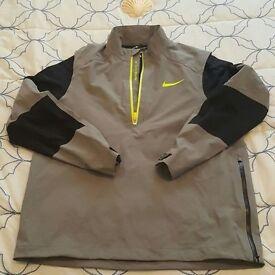 Mens Nike Half ZIp Hyperadapt Stormfit 10 Waterproof Golf Jacket
