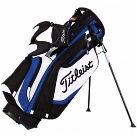 Titleist golf bag only used twice!
