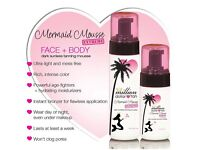 Million Dollar Tan - Mermaid Mousse (Face & Body) Brand New 100% Guenuine!