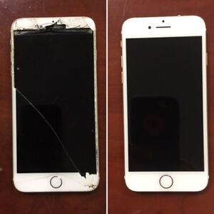 Same Day Repair iPhone &iPad Screen with 3 months warranty