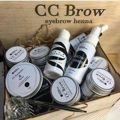 Kit de cejas y pestañas CC Brow Henna para uso profesional Juego...