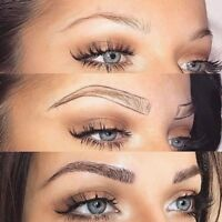 HUGE Summer PROMO 30% off Brows Microblading w FREE Touchup $280